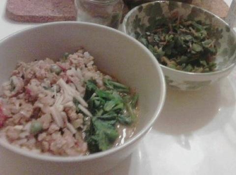 青菜カレー